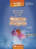 Couverture du livre « Médecine d'urgence » de Jenkins aux éditions De Boeck Superieur