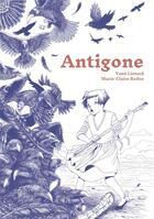 Couverture du livre « Antigone » de Yann Liotard et Marie-Claire Redon aux éditions La Ville Brule