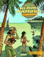 Couverture du livre « Les jeunes aventuriers t.2 ; salut les îles » de Joub et Nicoby et Copin aux éditions Plume Verte