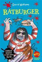 Couverture du livre « Ratburger » de David Walliams aux éditions Albin Michel Jeunesse