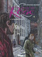Couverture du livre « La derniere pluie » de Viviane Nicaise et Dina Kathelyn et Dieter aux éditions Glenat