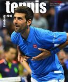 Couverture du livre « L'année du tennis 2016 » de Collectif et Jean Couvercelle aux éditions Calmann-levy