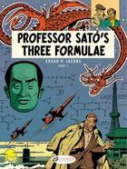Couverture du livre « Blake et Mortimer T.22 ; professor Sato's three formulae t.1 » de Edgar Pierre Jacobs aux éditions Cinebook