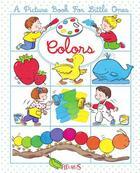 Couverture du livre « Colors » de Emilie Beaumont et Nathalie Belineau aux éditions Fleurus