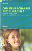 Couverture du livre « Comment echapper aux allergies ? » de Lise Manson aux éditions Delville