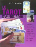 Couverture du livre « Le tarot d'aujourd'hui » de Joanna Watters aux éditions Roseau