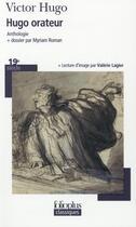 Couverture du livre « Hugo orateur » de Victor Hugo aux éditions Gallimard