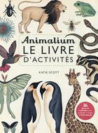 Couverture du livre « Anamilium, le livre d'activité » de Katie Scott aux éditions Casterman