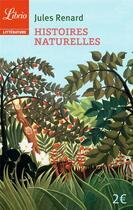 Couverture du livre « Histoires naturelles » de Jules Renard aux éditions J'ai Lu