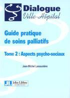 Couverture du livre « Guide prat soins pal t2 » de Lassauniere J-M. aux éditions John Libbey