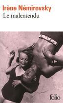 Couverture du livre « Le malentendu » de Irene Nemirovsky aux éditions Gallimard