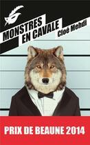 Couverture du livre « Monstres en cavale » de Cloe Mehdi aux éditions Editions Du Masque