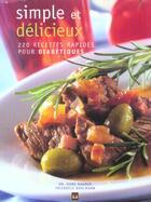 Couverture du livre « Simple et delicieux » de Hauner Hans aux éditions Modus Vivendi