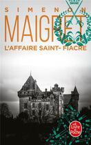 Couverture du livre « L'affaire Saint-Fiacre » de Georges Simenon aux éditions Lgf