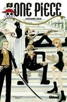 Couverture du livre « One piece t.6 ; le serment » de Eiichiro Oda aux éditions Glenat