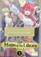 Couverture du livre « Magus of the library T.3 » de Mitsu Izumi aux éditions Ki-oon