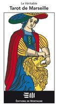 Couverture du livre « Le véritable tarot de Marseille ; jeu de cartes » de Kris Hadar aux éditions De Mortagne
