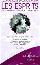 Couverture du livre « La communication avec les esprits et comment l'utiliser à bon escient » de Ray Buckland aux éditions Octave