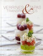 Couverture du livre « Verrines Tapas Et Transparence » de Glacier Jary aux éditions Dormonval