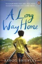 Couverture du livre « A Long Way Home » de Saroo Brierley aux éditions Adult Pbs