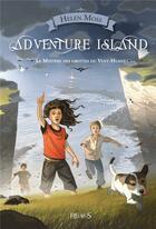 Couverture du livre « Adventure island ; le mystère des grottes du vent-huant » de Yann Tisseron et Helen Moss aux éditions Fleurus
