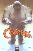 Couverture du livre « Concrete T.1 » de Paul Chadwick aux éditions Semic