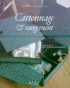 Couverture du livre « Cartonnage et rangement » de Bonnet-Westerloppe aux éditions Inedite