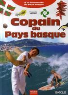 Couverture du livre « Copain du pays basque » de Txomin Laxalt aux éditions Milan