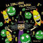 Couverture du livre « La sorcière Microba » de Naima Guerziz et Nomen Zophrenski aux éditions Thot