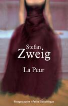 Couverture du livre « La peur » de Stefan Zweig aux éditions Éditions Rivages