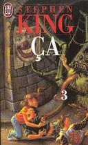 Couverture du livre « Ça t.3 » de Stephen King aux éditions J'ai Lu