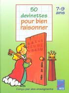 Couverture du livre « 50 Devinettes Pour Raisonner » de Roger Rougier aux éditions Retz