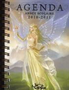 Couverture du livre « Agenda scolaire 2010/2011 » de Sandrine Gestin aux éditions Au Bord Des Continents