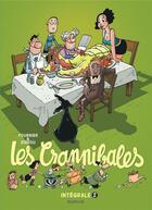 Couverture du livre « Les Crannibales ; INTEGRALE VOL.2 » de Zidrou et Jean-Claude Fournier aux éditions Dupuis