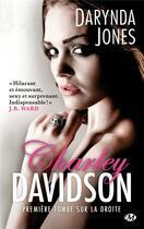 Couverture du livre « Charley Davidson T.1 ; première tombe sur la droite » de Darynda Jones aux éditions Milady