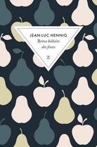 Couverture du livre « Brève histoire des fesses » de Jean-Luc Hennig aux éditions Zulma