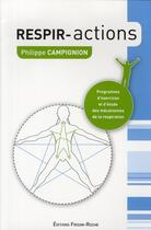 Couverture du livre « Respiractions » de Campignon aux éditions Frison Roche