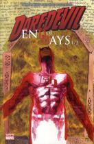 Couverture du livre « Daredevil - end of days T.1 » de David Mack et Klaus Janson et Bill Sienkiewicz et Brian Michael Bendis aux éditions Panini