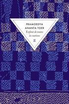 Couverture du livre « Enfant de toutes les nations » de Pramoedya Ananta Toer aux éditions Zulma