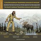 Couverture du livre « Le maître Glooscap transforme animaux et paysages » de Rejean Roy aux éditions Bouton D'or