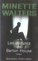 Couverture du livre « Les demons de barton house » de Minette Walters aux éditions Robert Laffont