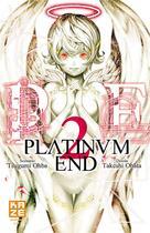 Couverture du livre « Platinum end T.2 » de Takeshi Obata et Tsugumi Ohba aux éditions Kaze