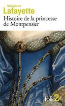 Couverture du livre « Histoire de la princesse de Montpensier et autres nouvelles » de Madame De La Fayette aux éditions Gallimard