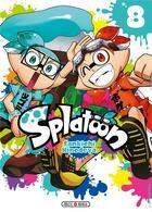 Couverture du livre « Splatoon T.8 » de Sankichi Hinodeya aux éditions Soleil