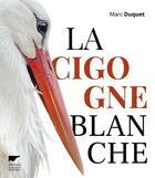 Couverture du livre « La cigogne blanche » de Marc Duquet aux éditions Delachaux & Niestle