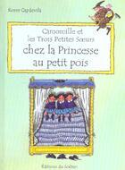 Couverture du livre « Camomille Et Les Trois Petites Soeurs Chez La Princesse Au Petit Pois » de Roser Capdevila aux éditions Le Sorbier