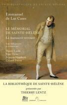 Couverture du livre « Le mémorial de Sainte-Hélène » de Thierry Lentz et Chantal Prevot et Peter Hicks et Francoise De Houdecek aux éditions Perrin