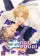 Couverture du livre « Not equal t.2 » de Ike Reibun aux éditions Taifu Comics