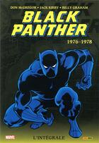 Couverture du livre « Black Panther ; INTEGRALE VOL.2 ; 1976-1978 » de Billy Graham et Don Mcgregor et Jack Kirby aux éditions Panini