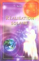 Couverture du livre « Realisation solaire (édition 2005) » de Soria aux éditions Ariane